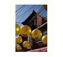 buddha festival japan Art Print