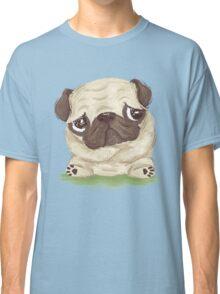 Thoughtful pug Classic T-Shirt
