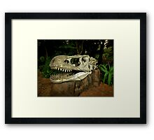 Out-Distancing Dinosaurs Framed Print