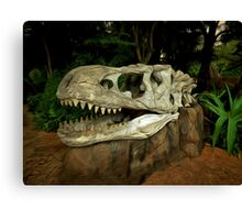 Out-Distancing Dinosaurs Canvas Print