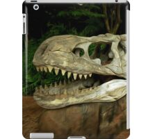 Out-Distancing Dinosaurs iPad Case/Skin