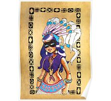 Red Indian Girls 1 Poster