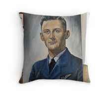 Jim du Boulay-Royal Australian Air Force 1945. Throw Pillow