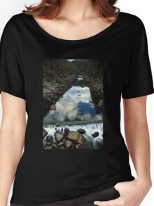 Rocks 'n Reflections - Historic Cataract Gorge Women's Relaxed Fit T-Shirt