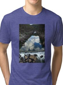 Rocks 'n Reflections - Historic Cataract Gorge Tri-blend T-Shirt