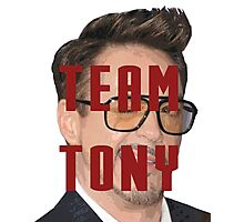 Team Tony Photographic Print
