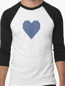 UCLA Blue  Men's Baseball ¾ T-Shirt
