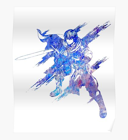 The Azure Knight Poster