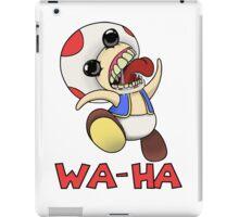 Toad: Wa-Ha iPad Case/Skin