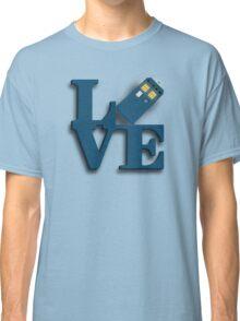 Doctor Who Love Tardis Classic T-Shirt