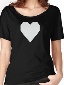 Anti-Flash White  Women's Relaxed Fit T-Shirt