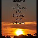 Believe to Achieve by Coralie Plozza