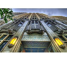 Art Deco Gothic - BMA House c1929-30 - The HDR Experience Photographic Print