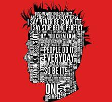 Typography Tyler Durden Uncensored T-Shirt