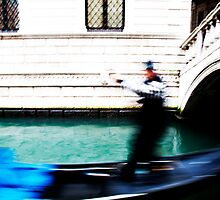 Rush Hour Venice by tonyconnelly