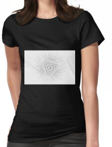 Spirograph 3 Womens Fitted T-Shirt