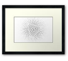 Spirograph 3 Framed Print