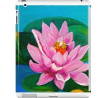 Pink Lily Pad iPad Case/Skin
