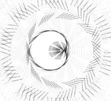 Spirograph 4 Sticker