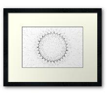 Spirograph 5 Framed Print
