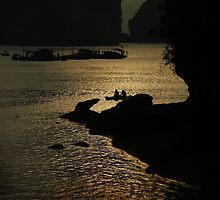 Halong Bay, Northern Vietnam by Kristi Robertson