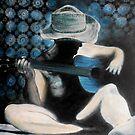 """Solitary Man by Belinda """"BillyLee"""" NYE (Printmaker)"""