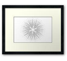 Spirograph 7 Framed Print