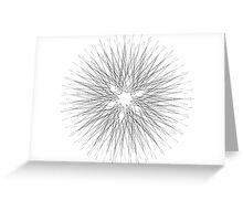 Spirograph 7 Greeting Card
