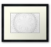 Spirograph 9 Framed Print