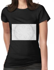 Spirograph 9 Womens Fitted T-Shirt