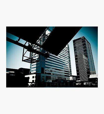Urban city Photographic Print