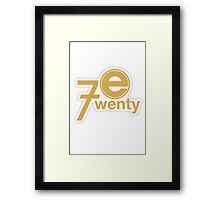 Parks and Rec: Entertainment 720 Framed Print