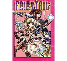 Fairy Tail Manga Cover Photographic Print