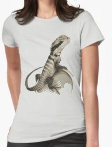 Australian Water Dragon Womens Fitted T-Shirt