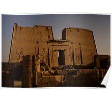 Temple of Edfu Poster