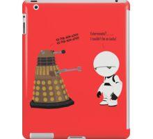 Dalek and Marvin mashup iPad Case/Skin
