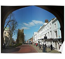East Street, Chichester, West Sussex. Poster