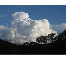 Cumulus! - Late Afternoon Cloud Photographic Print