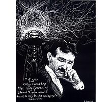 """Nikola Tesla""- 2010 Photographic Print"