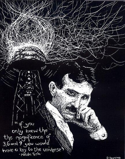 """""""Nikola Tesla""""- 2010 by Donna Raymond"""