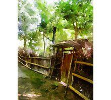 Rustic Gate Photographic Print