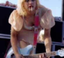 Courtney Love Sticker Sticker
