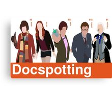 Docspotting Canvas Print