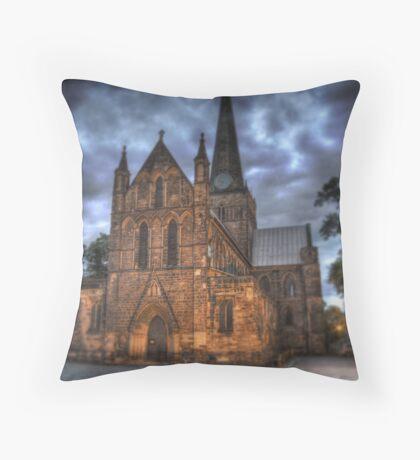 Darling Church Throw Pillow