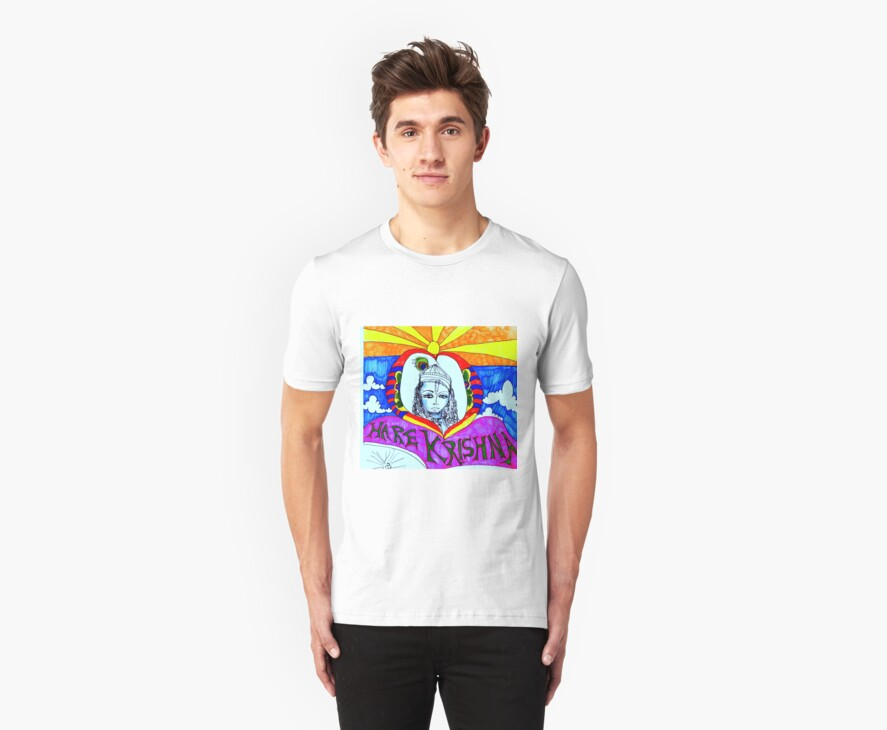 Hare Krishna Tshirt by FlashyFay