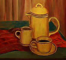 Coffee and Milk by Kostas Koutsoukanidis