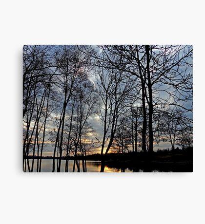 Sunset over Gulladoo Canvas Print