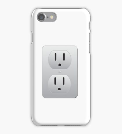 Electrical Outlet iPhone Case/Skin