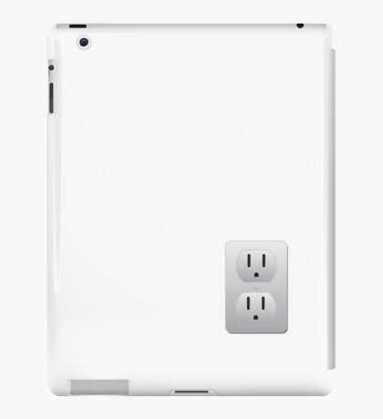 Electrical Outlet iPad Case/Skin