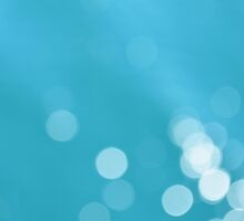 Turquoise sea bokeh by by-jwp